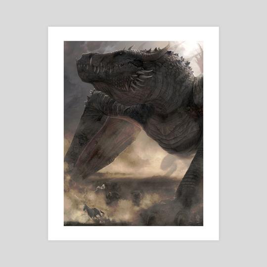 Balerion the Black Dread by Lindsey Burcar