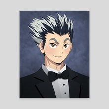 Bokuto HQ Senior Portrait - Canvas by bionyo