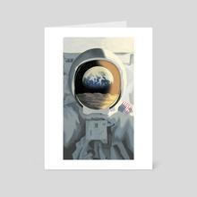 Schlafly Lunar Lager Illustration 03 - Art Card by Tom Moore