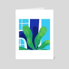Palms - Art Card by Andrea Pereira