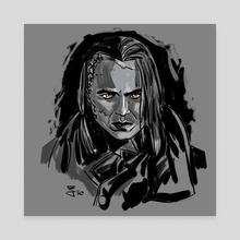 Frankenstein - Canvas by Rey Alicea
