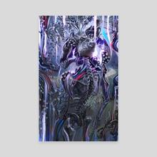 Phosphene - ghost painting - Canvas by Aldo Katayanagi