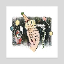 POGO'S ICE CREAM - Canvas by GABA girl