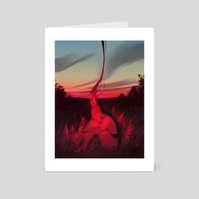 flame - Art Card by Lois van Baarle