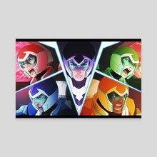 VOLTRON - Canvas by Noisyghost