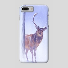 Winter Deer - Phone Case by Sophie Eves