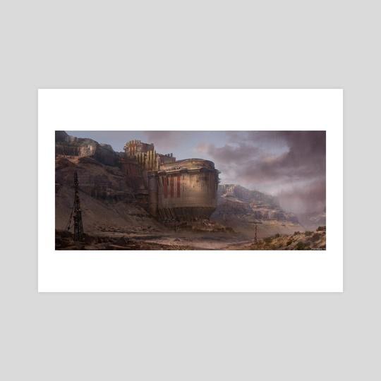 Desert Castle by Piotr Kupsc