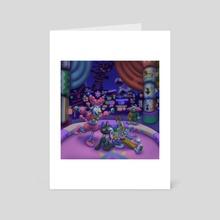 Circus - Art Card by zaliko