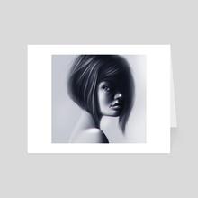 Gray - Art Card by Dato kiknavelidze