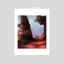 Adventure - Art Card by Rachel Cronk