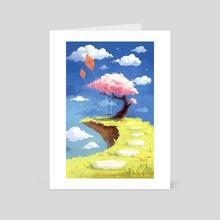 Secret place - Art Card by Indré Bankauskaité
