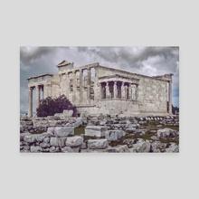 Erechtheum Temple, Acropolis, Athens, Greece - Canvas by Daniel Ferreira Leites