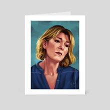 Bernie Wolfe - Art Card by Mali Ware