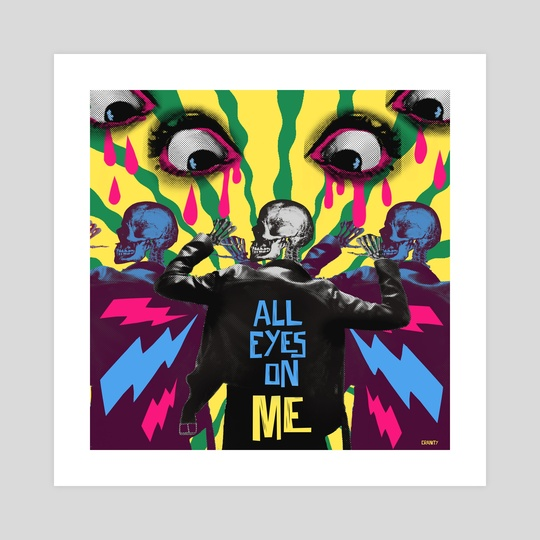ALL EYES ON ME by Roxy Urquiza Flores