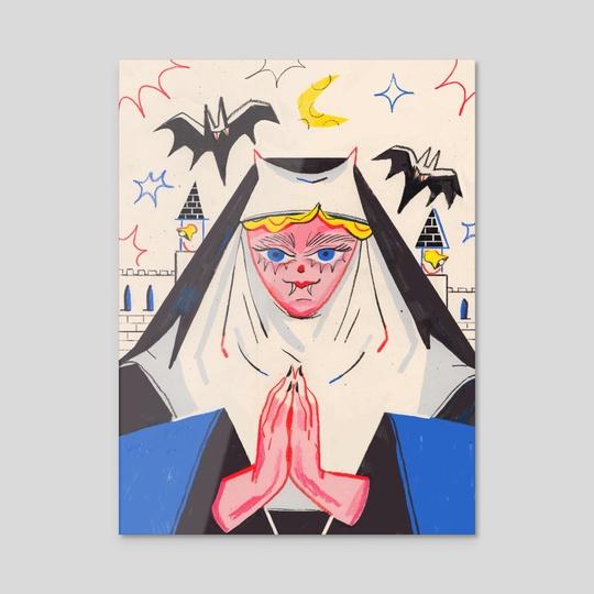 Vampire Nun by Kelsey Wroten