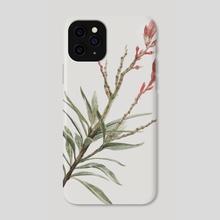 Nerium odorum - Phone Case by Zukiora