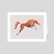 Horse 1 - Art Card by ali saei