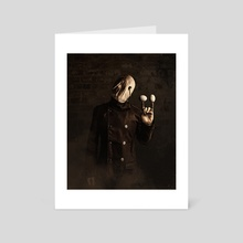 The Egg H(a)unt - Art Card by Matthew Black