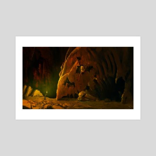 Dragon Cave by George Skodras
