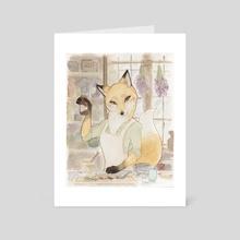 Aki's Apothecary - Art Card by Addi McClure