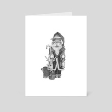 Santa Claus - Art Card by Chris R