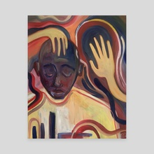 Reaching For the Hands of Peace - Canvas by Kiara  Florez