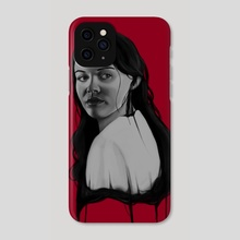 Bad Blood VI - Phone Case by Carina Tous