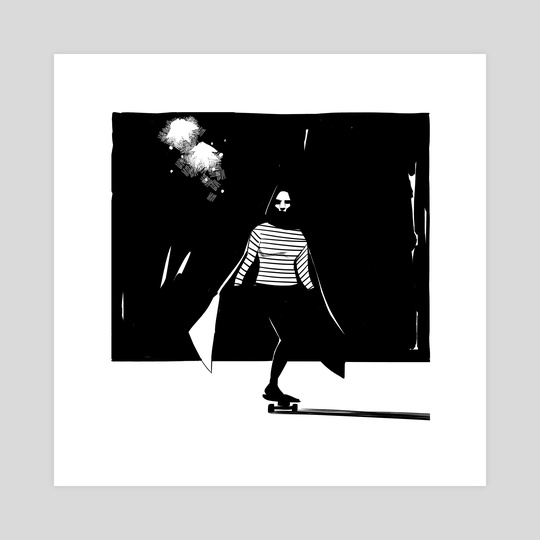 A Girl Walks Home Alone at Night by SPH horror