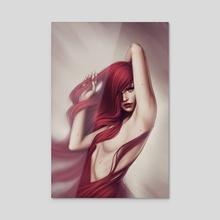 Louder - Acrylic by Fernanda Suarez
