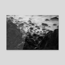 Staring Into Oblivion - Acrylic by Diogo Pereira