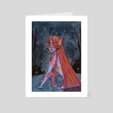 Lake Creature - Art Card by Daylen Saenz