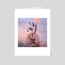 High - Art Card by Jelena Dejanovic