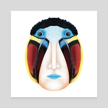 White-throated toucan - Canvas by Nivas