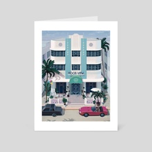 Ocean Drive - Art Card by Mr.Melville