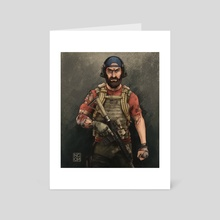 Nomad - Art Card by NgenoART
