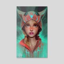 Catmeleon - Acrylic by Carlo Marcelo