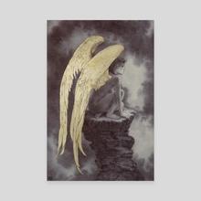 The Fallen - Canvas by Rebecca Yanovskaya