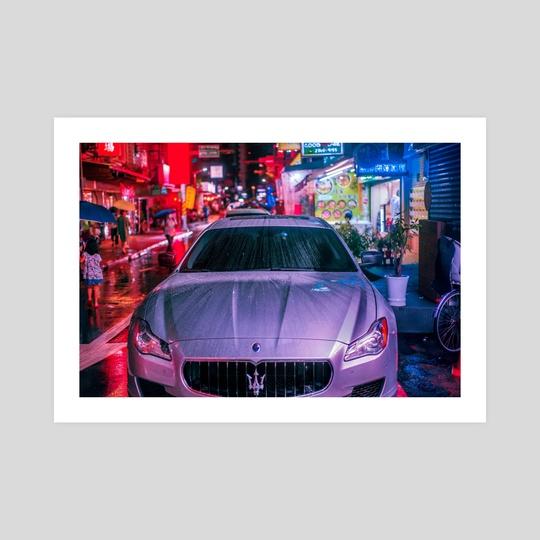 Night Market Maserati by Andrew Haimerl