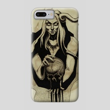 Sibyl - Phone Case by Lubov Soltan