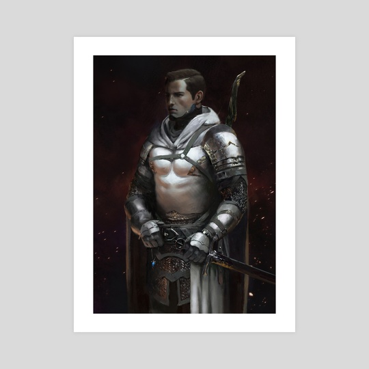 Knight-Captain - White by J. Armand
