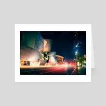 Wald Disney Concert Hall - Art Card by Enkel Dika