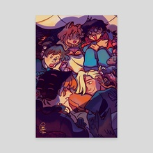 The Sleepover - Canvas by Chex DC