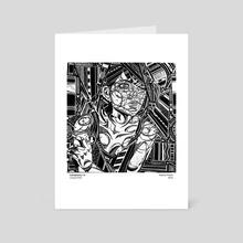 Cacophony - Art Card by Rachel Precht