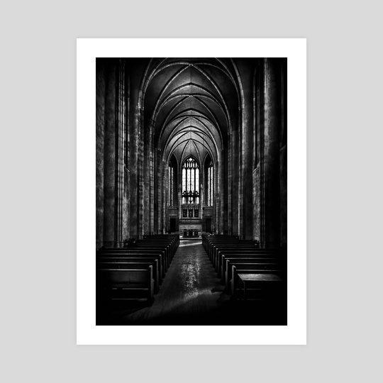 Trinity College Chapel by Brian Carson