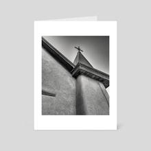 The Old Church - Art Card by Steve Muncy