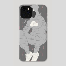 Grey Mage - Phone Case by Jovo Ve