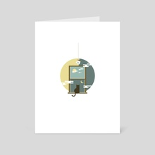Everyday, it stays. - Art Card by Vectoria :  visually vectorized