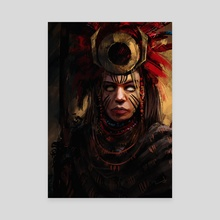 The Seer - Canvas by Imad Awan