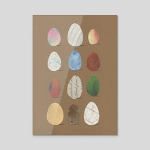 Odd Facts About Eggs - Acrylic by Pbody Dsign