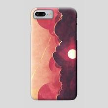 J'adore - Phone Case by Micaela Blondin
